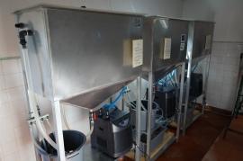 Reservatórios de captura de juvenis de náiades